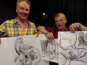 Beide kunstenaars