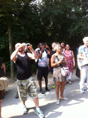 fotograferend publiek